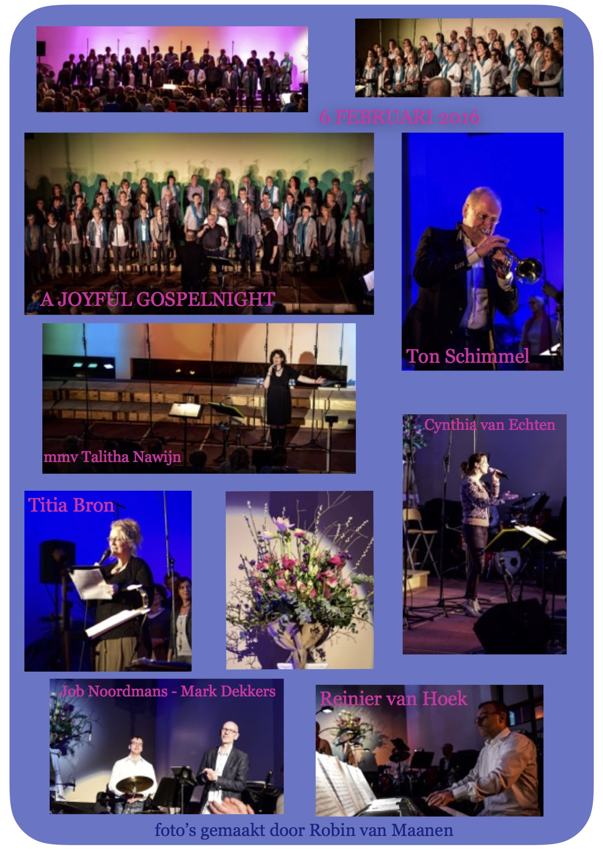 fotocollage gospelnight 2